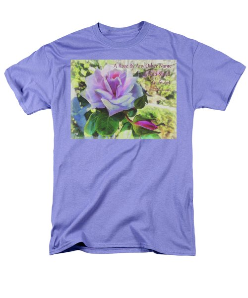 A Rose By Any Other Name Men's T-Shirt  (Regular Fit)