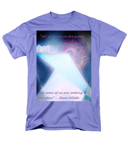 Men's T-Shirt  (Regular Fit) featuring the painting Act Of Creation by Denise Fulmer