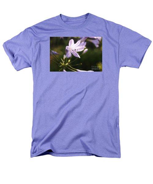 Agapanthus Men's T-Shirt  (Regular Fit) by Cassandra Buckley
