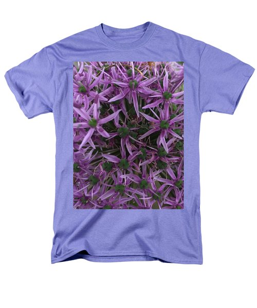 Allium Stars  Men's T-Shirt  (Regular Fit) by Kathy Spall