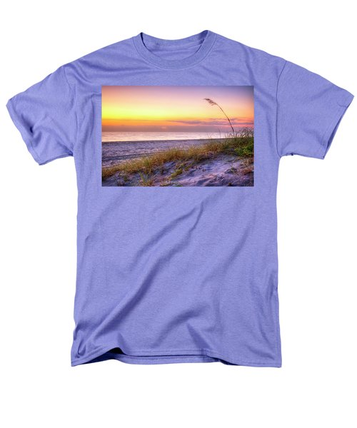 Men's T-Shirt  (Regular Fit) featuring the photograph Alone At Dawn by Debra and Dave Vanderlaan