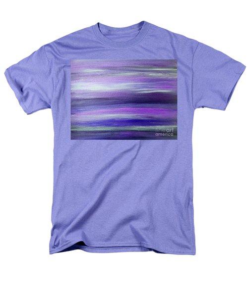 Amethyst Mirage  Men's T-Shirt  (Regular Fit) by Rachel Hannah
