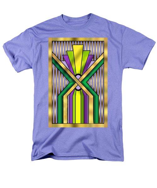 Art Deco 14 B Transparent Men's T-Shirt  (Regular Fit) by Chuck Staley