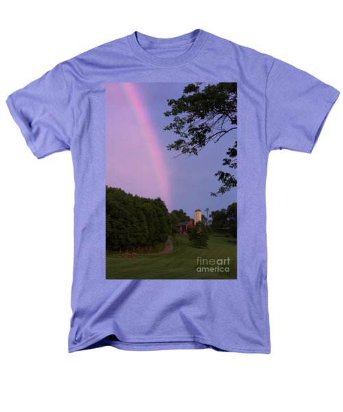 At The End Of The Rainbow Men's T-Shirt  (Regular Fit) by Nicki McManus
