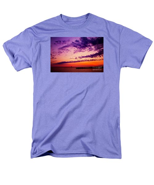 August Night Men's T-Shirt  (Regular Fit) by Randall  Cogle