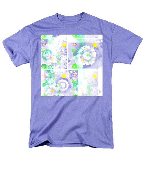 Colour Choice Poppy Collage Men's T-Shirt  (Regular Fit) by Barbara Moignard