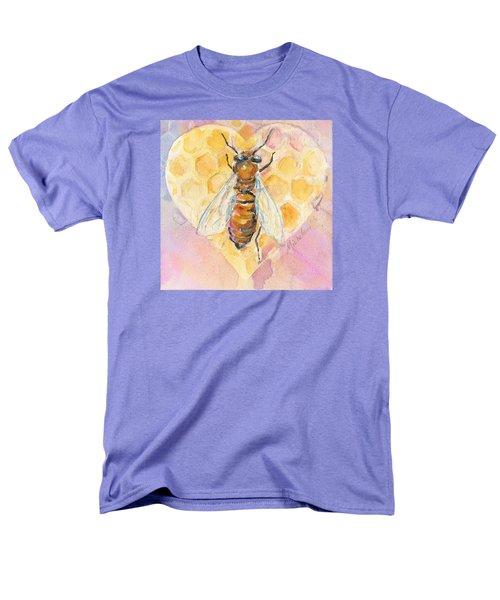 Bee Heart Men's T-Shirt  (Regular Fit)