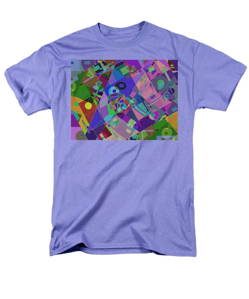 Bent Shapes 14 Men's T-Shirt  (Regular Fit) by Lynda Lehmann
