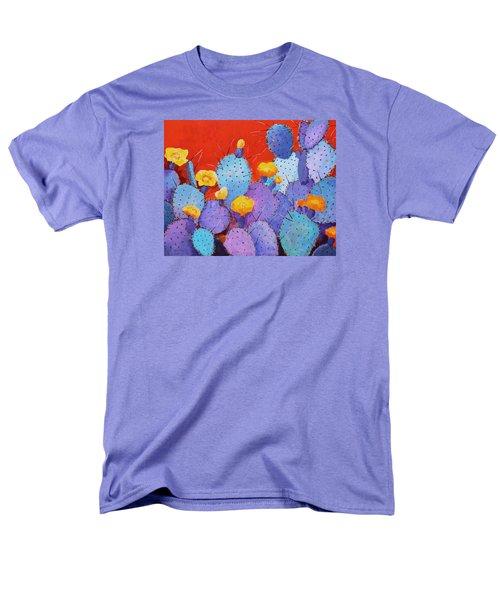 Blue Flame Companion 1 Men's T-Shirt  (Regular Fit) by M Diane Bonaparte