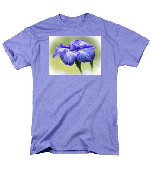 Blue Iris Men's T-Shirt  (Regular Fit) by Venetia Featherstone-Witty