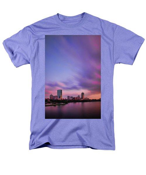 Boston Afterglow Men's T-Shirt  (Regular Fit) by Rick Berk