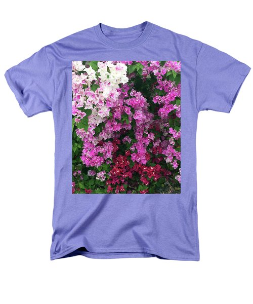 Bougainville Flowers In Hawaii Men's T-Shirt  (Regular Fit) by Karen Nicholson