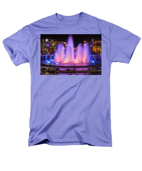 Bricktown Fountain Men's T-Shirt  (Regular Fit)