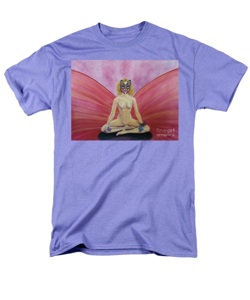Butterfly Meditation Men's T-Shirt  (Regular Fit) by Steed Edwards