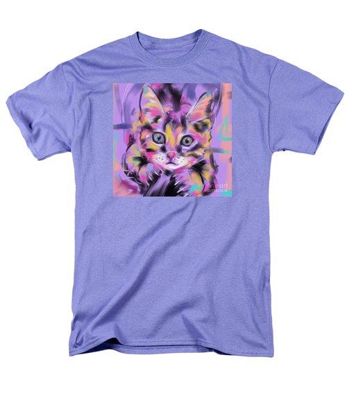 Cat Wild Thing Men's T-Shirt  (Regular Fit) by Go Van Kampen
