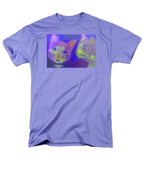 Cats On A Wall Men's T-Shirt  (Regular Fit) by John King