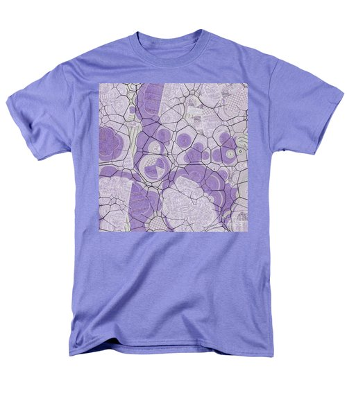Men's T-Shirt  (Regular Fit) featuring the digital art Cellules - 03c2 by Variance Collections