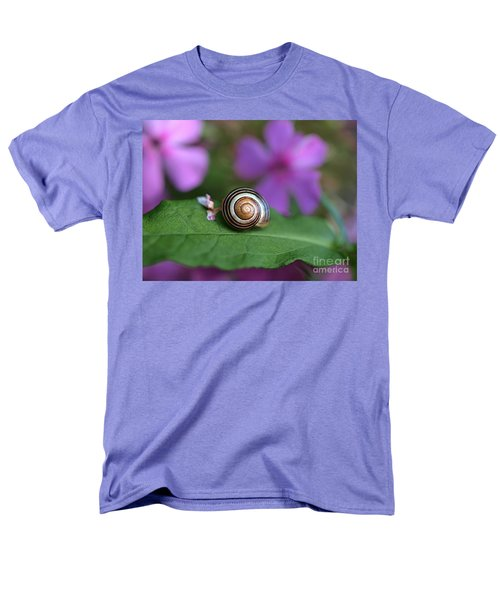 Come Out Of Your Shell Men's T-Shirt  (Regular Fit) by Susan Dimitrakopoulos
