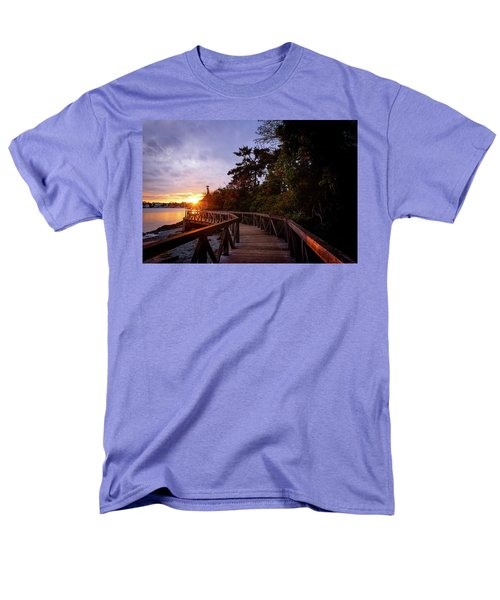 Come Walk With Me Men's T-Shirt  (Regular Fit) by Keith Boone