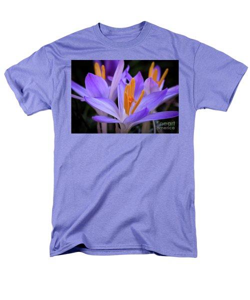 Men's T-Shirt  (Regular Fit) featuring the photograph Crocus Explosion by Douglas Stucky