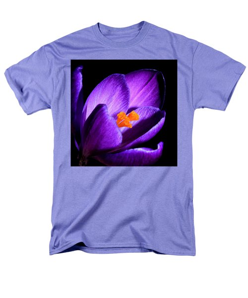 Crocus Men's T-Shirt  (Regular Fit) by Tammy Schneider