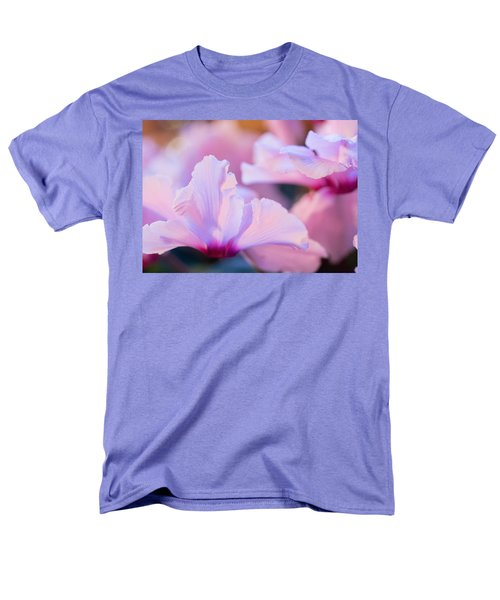 Men's T-Shirt  (Regular Fit) featuring the photograph Cyclamen by Cathy Donohoue