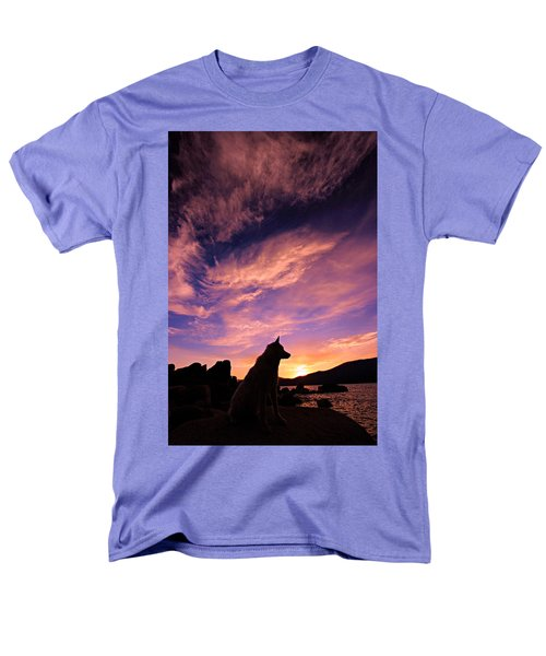Dogs Dream Too Men's T-Shirt  (Regular Fit) by Sean Sarsfield