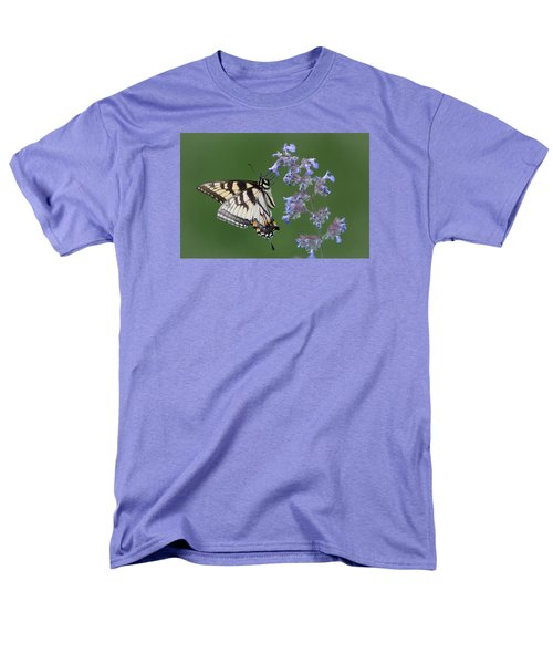 Eastern Tiger Swallowtail Profile Men's T-Shirt  (Regular Fit) by Patti Deters
