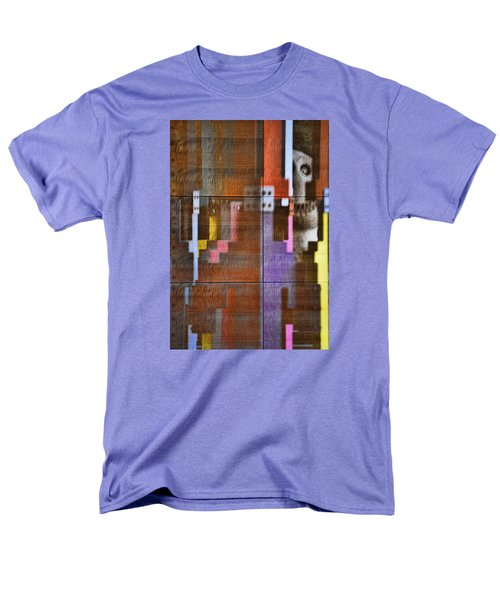 Men's T-Shirt  (Regular Fit) featuring the photograph Fearful Reflections San Francisco by Steve Siri