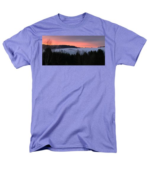 Men's T-Shirt  (Regular Fit) featuring the photograph February Oregon Sunrise by Katie Wing Vigil