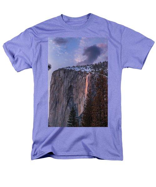 Firefall Men's T-Shirt  (Regular Fit) by Alpha Wanderlust