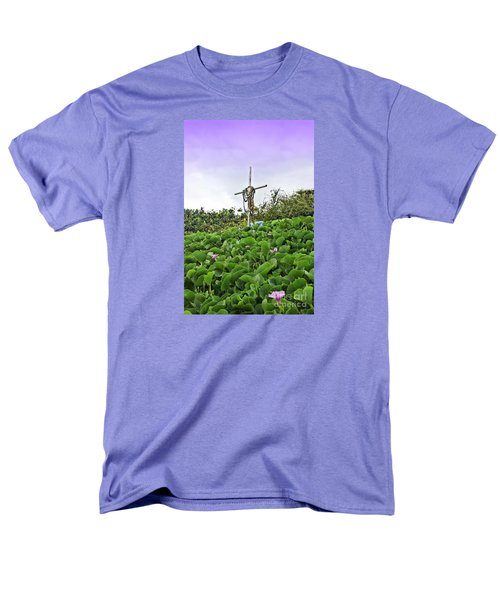 Men's T-Shirt  (Regular Fit) featuring the photograph Forget Me Not by DJ Florek