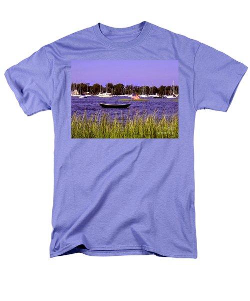 Freedom Bristol Harbor Rhode Island Men's T-Shirt  (Regular Fit) by Tom Prendergast