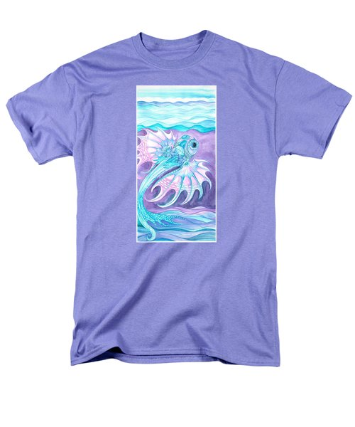 Frilled Fish Men's T-Shirt  (Regular Fit) by Adria Trail