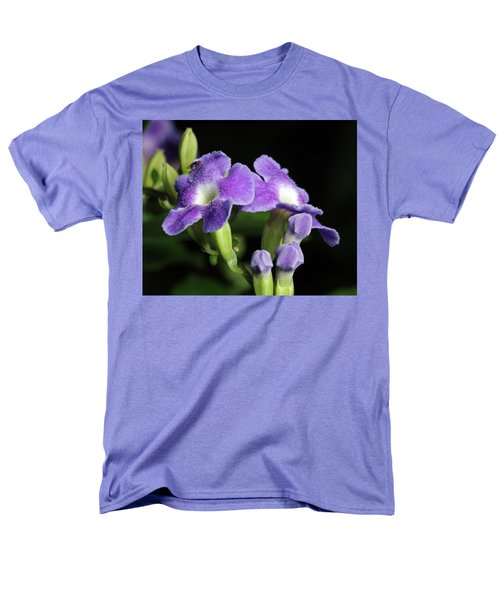 Men's T-Shirt  (Regular Fit) featuring the photograph Fruit Fly On Golden Dewdrop by Richard Rizzo