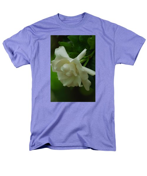 Men's T-Shirt  (Regular Fit) featuring the photograph Gardenia by Ramona Whiteaker
