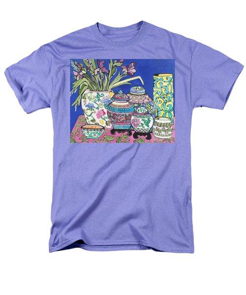 Ginger Jars Men's T-Shirt  (Regular Fit) by Rosemary Aubut