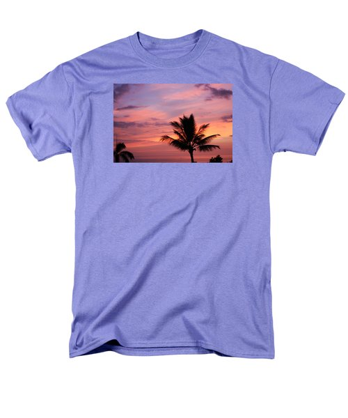 Gorgeous Hawaiian Sunset - 1 Men's T-Shirt  (Regular Fit) by Karen Nicholson