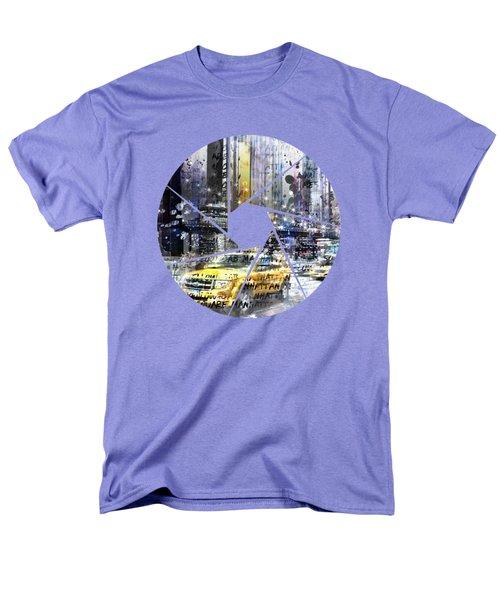 Graphic Art New York City Men's T-Shirt  (Regular Fit)