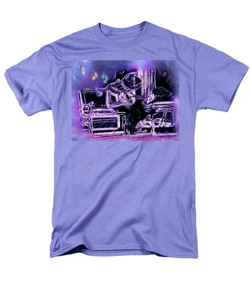 Men's T-Shirt  (Regular Fit) featuring the photograph Guitar Blues by Susan Kinney