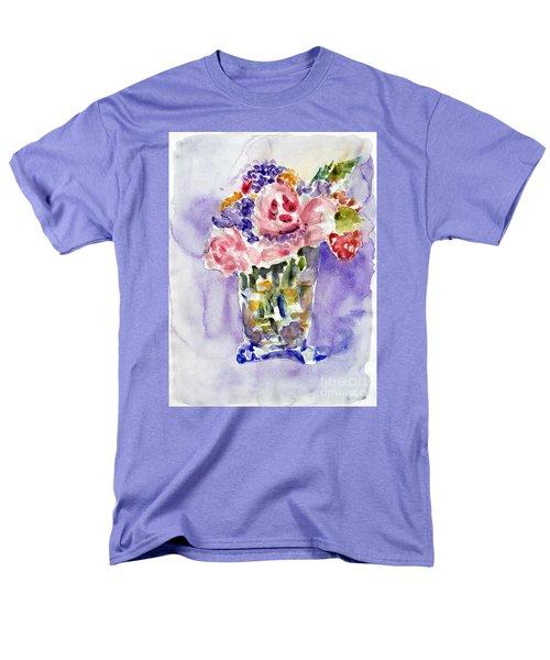 Harlequin Or Bright Side Of Life Men's T-Shirt  (Regular Fit) by Jasna Dragun