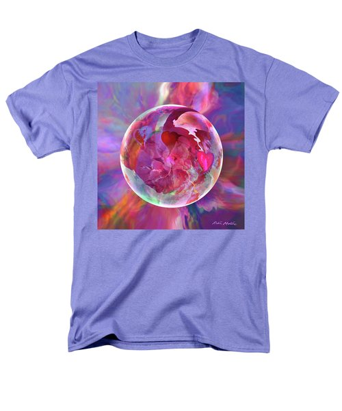 Hearts Of Space Men's T-Shirt  (Regular Fit) by Robin Moline