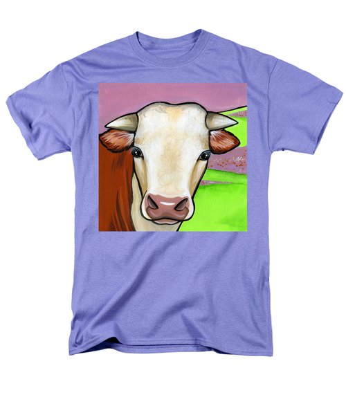 Hereford Men's T-Shirt  (Regular Fit) by Leanne Wilkes