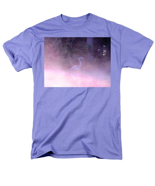 Men's T-Shirt  (Regular Fit) featuring the photograph Heron Collection 3 by Melissa Stoudt
