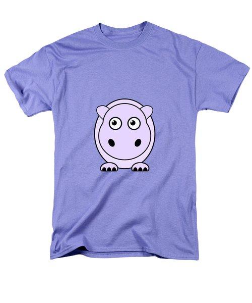 Hippo - Animals - Art For Kids Men's T-Shirt  (Regular Fit) by Anastasiya Malakhova