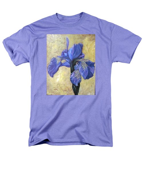 Iris Men's T-Shirt  (Regular Fit) by Barbara O'Toole