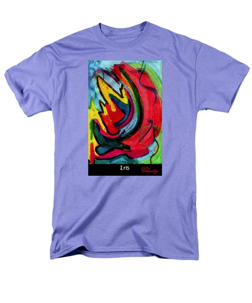 Iris Men's T-Shirt  (Regular Fit) by Clarity Artists