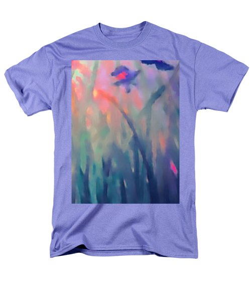 Men's T-Shirt  (Regular Fit) featuring the painting Iris by Holly Martinson