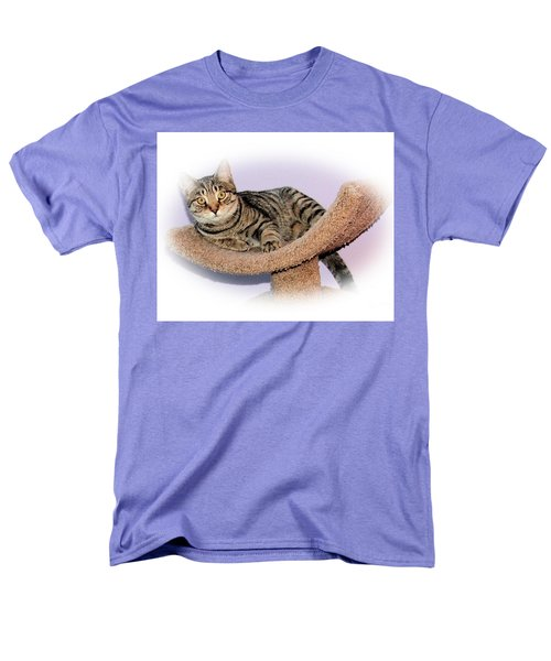 Men's T-Shirt  (Regular Fit) featuring the photograph Kitty Perch by Debbie Stahre