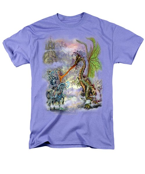 Knights N Dragons Men's T-Shirt  (Regular Fit) by Kevin Middleton